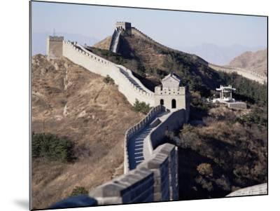 The Great Wall of China, Unesco World Heritage Site, Near Beijing, China-Adina Tovy-Mounted Photographic Print