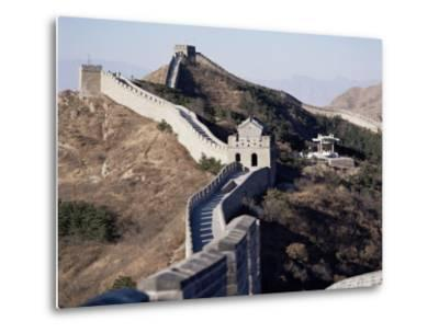 The Great Wall of China, Unesco World Heritage Site, Near Beijing, China-Adina Tovy-Metal Print