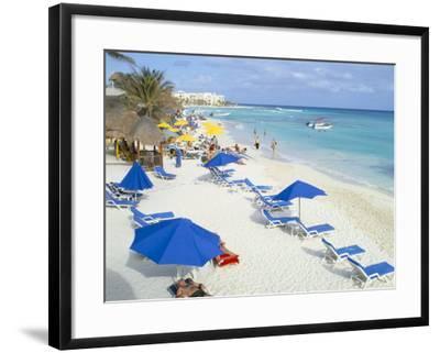 Playa Del Carmen, Yucatan, Mexico, North America-Adina Tovy-Framed Photographic Print
