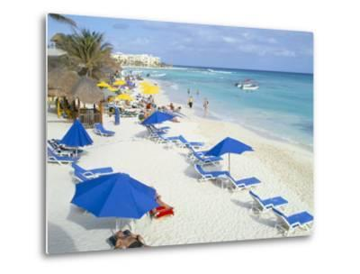 Playa Del Carmen, Yucatan, Mexico, North America-Adina Tovy-Metal Print
