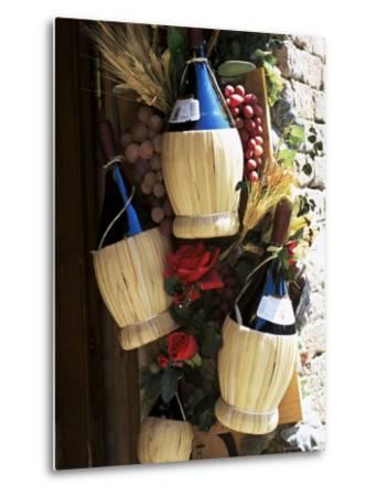 Display of Local Wine for Sale, Siena, Tuscany, Italy Photographic Print by  Ruth Tomlinson | Art com