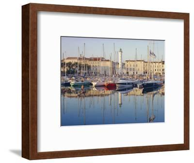 The Harbour in the Evening, La Rochelle, Poitou-Charentes, France-Ruth Tomlinson-Framed Photographic Print