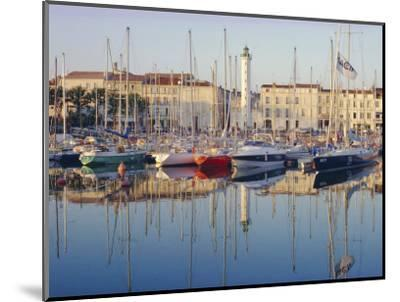 The Harbour in the Evening, La Rochelle, Poitou-Charentes, France-Ruth Tomlinson-Mounted Photographic Print