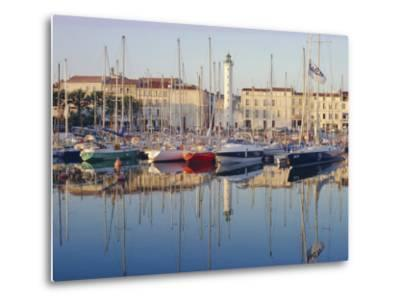 The Harbour in the Evening, La Rochelle, Poitou-Charentes, France-Ruth Tomlinson-Metal Print