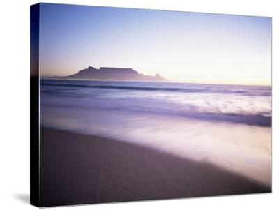 Table Mountain, Cape Town, Cape Province, South Africa, Africa-I Vanderharst-Stretched Canvas Print