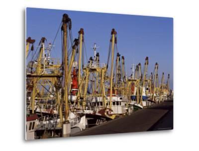 Fishing Fleet, Den Helder, Holland-I Vanderharst-Metal Print