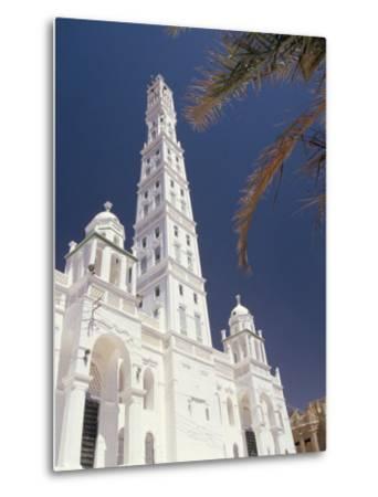 Al Mindhar Mosque, Tarim, Yemen, Middle East-Doug Traverso-Metal Print