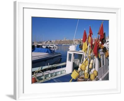 Vieux Port, Marseille, Bouches-Du-Rhone, Provence, France-Guy Thouvenin-Framed Photographic Print
