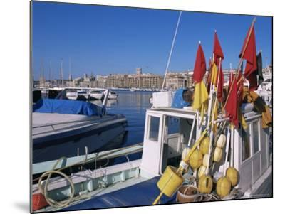 Vieux Port, Marseille, Bouches-Du-Rhone, Provence, France-Guy Thouvenin-Mounted Photographic Print