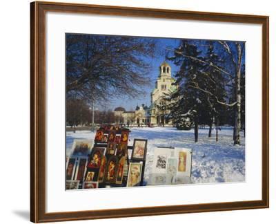 Alexander Nevski Cathedral, Sophia, Bulgaria-Tom Teegan-Framed Photographic Print