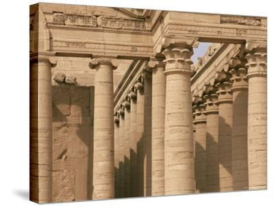 Temple of Mrn, Hatra, Unesco World Heritage Site, Iraq, Middle East-Nico Tondini-Stretched Canvas Print
