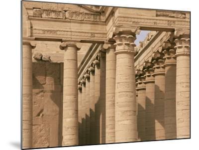 Temple of Mrn, Hatra, Unesco World Heritage Site, Iraq, Middle East-Nico Tondini-Mounted Photographic Print