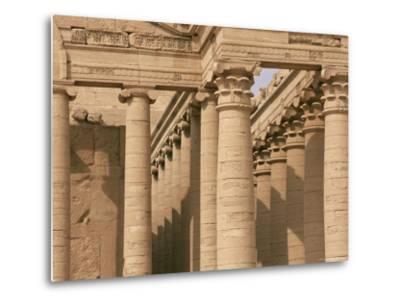 Temple of Mrn, Hatra, Unesco World Heritage Site, Iraq, Middle East-Nico Tondini-Metal Print