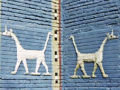 Moshushu, Babylon, Iraq, Middle East-Nico Tondini-Framed Photographic Print