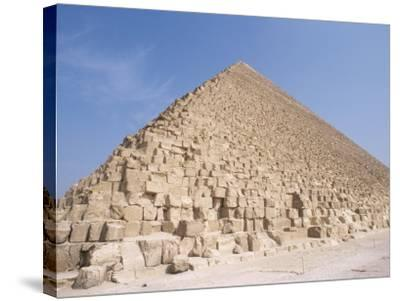 Pyramid of Cheops, Giza, Unesco World Heritage Site, Near Cairo, Egypt, North Africa, Africa-Nico Tondini-Stretched Canvas Print