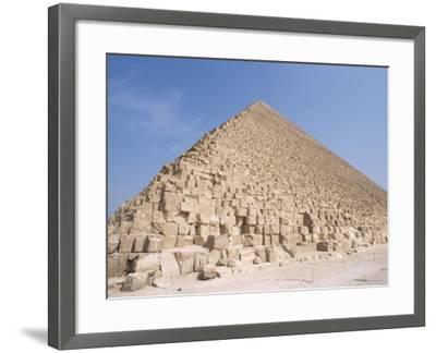 Pyramid of Cheops, Giza, Unesco World Heritage Site, Near Cairo, Egypt, North Africa, Africa-Nico Tondini-Framed Photographic Print