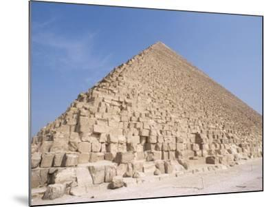 Pyramid of Cheops, Giza, Unesco World Heritage Site, Near Cairo, Egypt, North Africa, Africa-Nico Tondini-Mounted Photographic Print