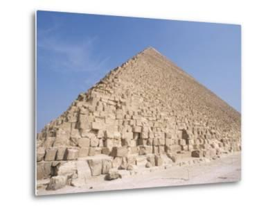 Pyramid of Cheops, Giza, Unesco World Heritage Site, Near Cairo, Egypt, North Africa, Africa-Nico Tondini-Metal Print