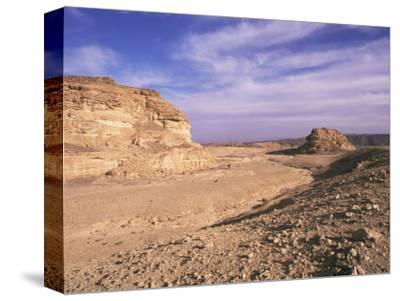 The Sinai Desert, Egypt, North Africa, Africa-Nico Tondini-Stretched Canvas Print