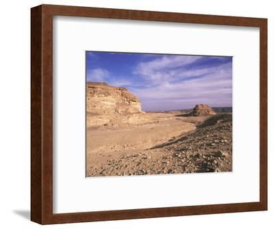 The Sinai Desert, Egypt, North Africa, Africa-Nico Tondini-Framed Photographic Print