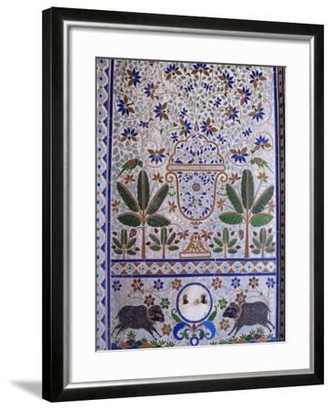 Juna Mahal, One of the Finest Examples of a Painted Palace, Dungarpur, Rajasthan State, India-John Henry Claude Wilson-Framed Photographic Print