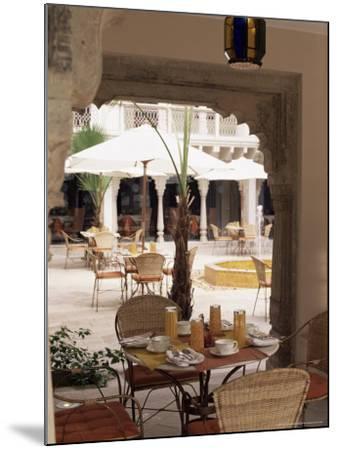 Dining Area, Usha Kiran Palace Hotel, Gwalior, Madhya Pradesh State, India-John Henry Claude Wilson-Mounted Photographic Print