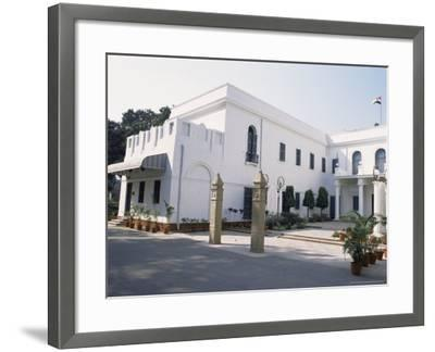 Birla House, in the Grounds of Which Mahatma Gandhi was Assassinated, Delhi, India-John Henry Claude Wilson-Framed Photographic Print