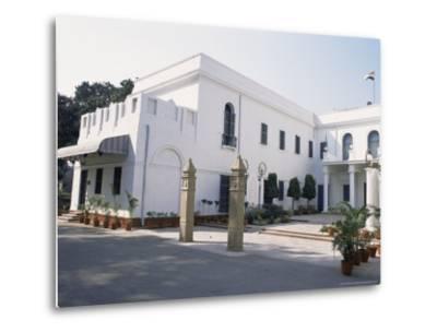 Birla House, in the Grounds of Which Mahatma Gandhi was Assassinated, Delhi, India-John Henry Claude Wilson-Metal Print