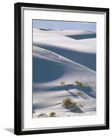 White Sands Desert, New Mexico, USA-Adam Woolfitt-Framed Photographic Print