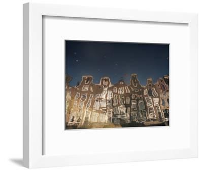 Canals, Amsterdam, Holland-Adam Woolfitt-Framed Photographic Print