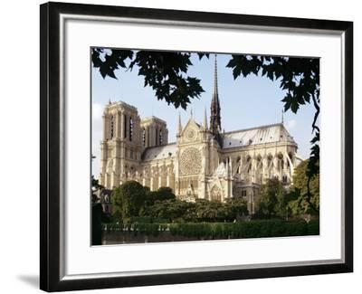 Cathedral of Notre Dame, Paris, France-Adam Woolfitt-Framed Photographic Print