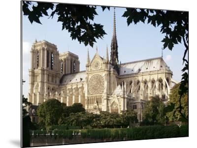 Cathedral of Notre Dame, Paris, France-Adam Woolfitt-Mounted Photographic Print