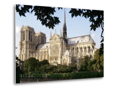 Cathedral of Notre Dame, Paris, France-Adam Woolfitt-Metal Print