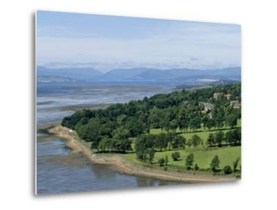 Dumbarton Castle on the North Shore of the River Clyde, Dunbartonshire, UK-Adam Woolfitt-Metal Print