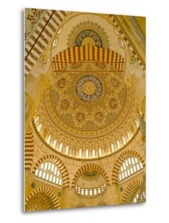 Interior of the Selimiye Mosque, Edirne, Anatolia, Turkey-Adam Woolfitt-Metal Print