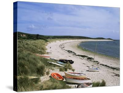 Higher Town Bay, St. Martin's, Isles of Scilly, United Kingdom-Adam Woolfitt-Stretched Canvas Print