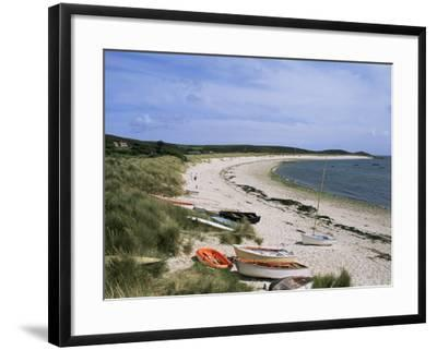 Higher Town Bay, St. Martin's, Isles of Scilly, United Kingdom-Adam Woolfitt-Framed Photographic Print