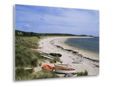 Higher Town Bay, St. Martin's, Isles of Scilly, United Kingdom-Adam Woolfitt-Metal Print
