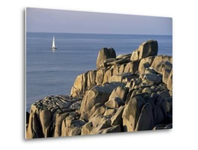 Penninis Point, St. Mary's, Isles of Scilly, United Kingdom-Adam Woolfitt-Metal Print