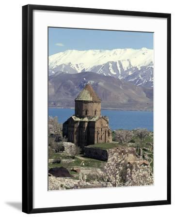 Armenian Church of Holy Cross, Akdamar Island, Lake Van, Anatolia, Turkey-Adam Woolfitt-Framed Photographic Print
