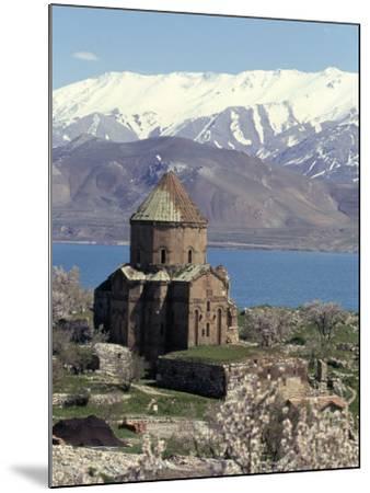 Armenian Church of Holy Cross, Akdamar Island, Lake Van, Anatolia, Turkey-Adam Woolfitt-Mounted Photographic Print