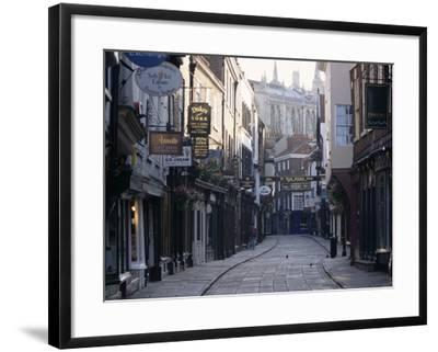 Stonegate, York, Yorkshire, England, United Kingdom-Adam Woolfitt-Framed Photographic Print