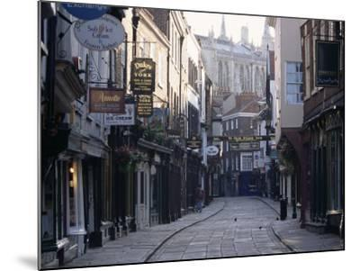 Stonegate, York, Yorkshire, England, United Kingdom-Adam Woolfitt-Mounted Photographic Print