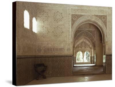 Hall of Two Sisters, Alhambra, Unesco World Heritage Site, Granada, Andalucia, Spain-Adam Woolfitt-Stretched Canvas Print