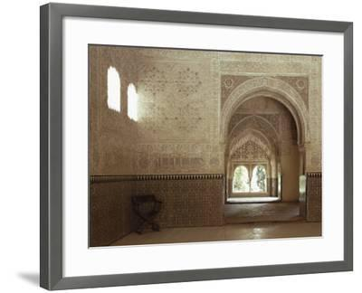 Hall of Two Sisters, Alhambra, Unesco World Heritage Site, Granada, Andalucia, Spain-Adam Woolfitt-Framed Photographic Print