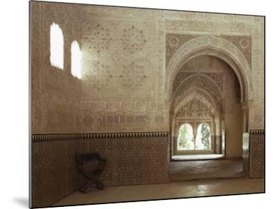 Hall of Two Sisters, Alhambra, Unesco World Heritage Site, Granada, Andalucia, Spain-Adam Woolfitt-Mounted Photographic Print