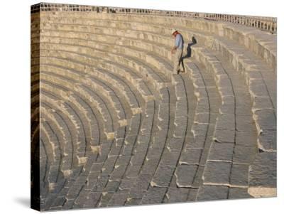 Archaeological Site, Jerash, Jordan, Middle East-Alison Wright-Stretched Canvas Print