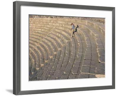 Archaeological Site, Jerash, Jordan, Middle East-Alison Wright-Framed Photographic Print
