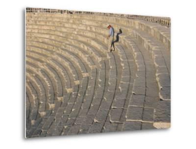 Archaeological Site, Jerash, Jordan, Middle East-Alison Wright-Metal Print