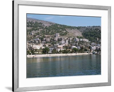 Coastline at Saranda, Albania-R H Productions-Framed Photographic Print